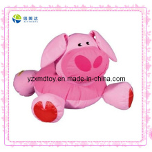 Pink Pig Baby Rattle Plush Toy